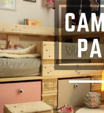 como hacer una cama con palets