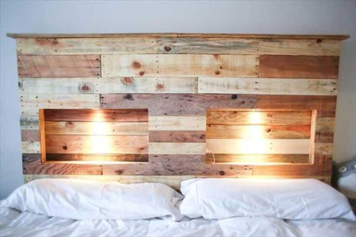 ideas diy para hacer respaldos con palets de madera